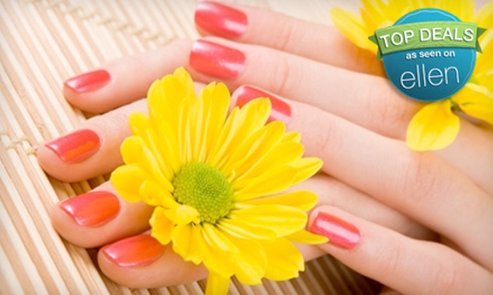 At Your Fingertips - Central City: $35 for a Gel-Polish Manicure at At Your Fingertips ($70 Value)