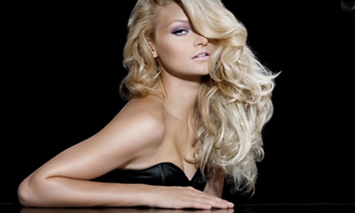 Alice Hair - Upper East Side: $48 for Full Night Out Package Including Hair Styling, Makeup Application, and Eyelash Extensions at Alice Hair (Up to $160 Value)