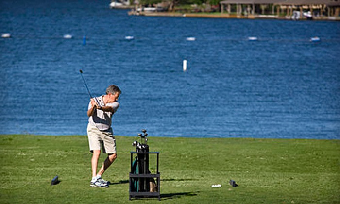 April Sound Country Club - April Sound: Golf Outing with Cart for One or Two, or Trial Membership for One or Two at April Sound Country Club in Montgomery