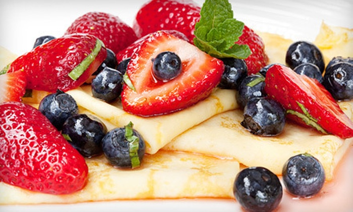 La Crepe and More - Wheaton - Glenmont: $11 for Four Crepes at La Crepe and More in Silver Spring (Up to $23.96 Value)