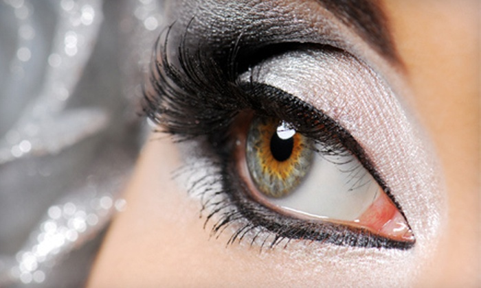 Glow Hair & Nails - Cranston: Regular or Mink Lash Extensions at Glow Hair & Nails (Up to 64% Off)
