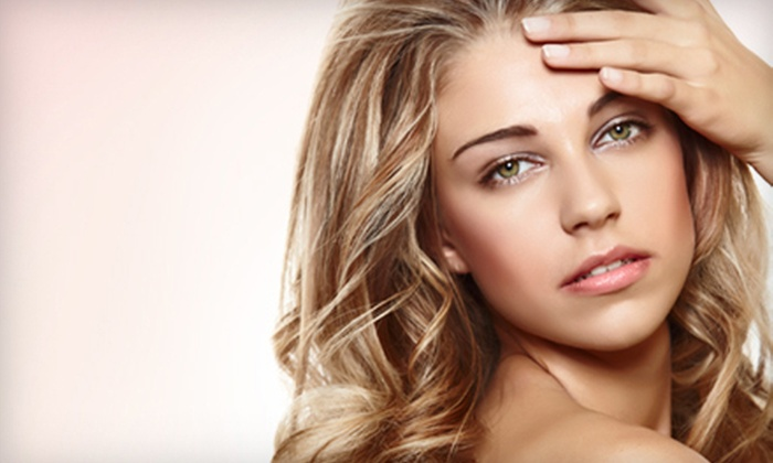 Paris Salon & Spa - Woodlake - Briar Meadow: Women's Haircut and Style with Options of Partial Highlights at Paris Salon & Spa (Up to 74% Off)