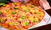 Capricciosas Gourmet Pizza - Stone Oak: Two Large, Two-Topping Pizzas or $10 for $20 Worth of Pizzeria Fare at Capricciosas Gourmet Pizza