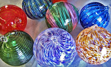 2-Hour Glassblowing Workshop to Make a Custom Ornament or Ball from 6PM-8PM on Friday, December 2 (an $80 value) - Glass Bubble Project in Cleveland