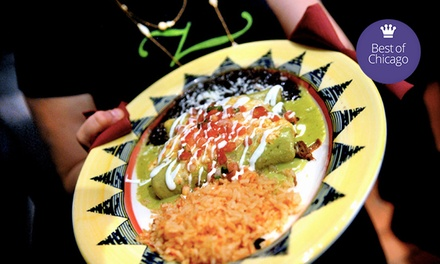 Fajitas de Mocaljete, Enchiladas, or Tacos for Two or Four at Zapatista (Up to 51% Off)