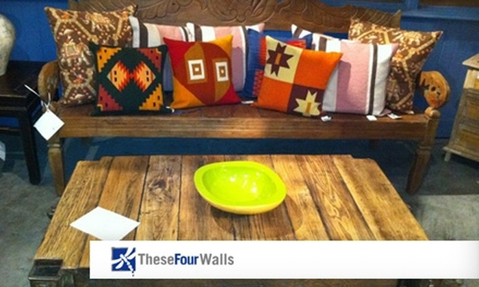 These Four Walls - Shockoe Slip: $15 for $30 Worth of Home Accessories at These Four Walls