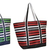 Classic Striped Beach and Boat Tote Bag