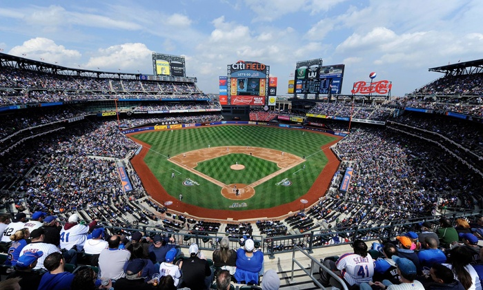 New York Mets - Citi Field: New York Mets Game at Citi Field. Four Games Available.