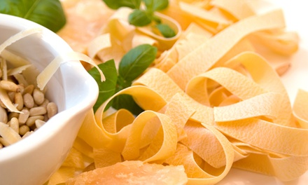$59 for a Pasta-Making Class with Lunch and Dessert for Two at The Local Epicurean ($118 Value)