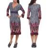 Ninette Women's Embroidered Sweater Dress (Size Medium)