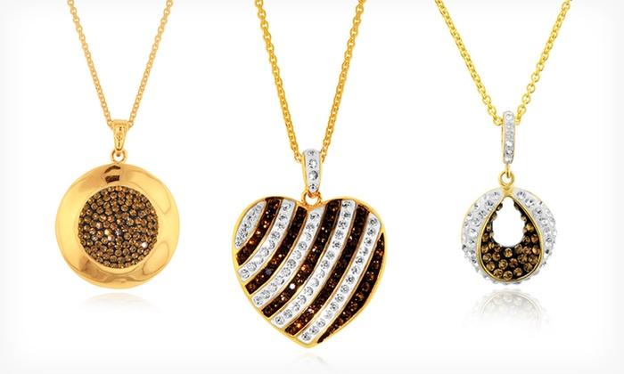 Jewellery with Swarovski Elements: Jewellery with Swarovski Elements (Up to 92% Off). 10 Styles Available.