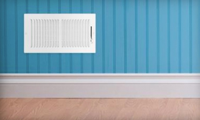 Green Heat Services - Multiple Locations: Home-Ventilation Package with Air-Duct Cleaning with Furnace Inspection and Optional Dryer-Vent Cleaning from Green Heat Services (87% Off)