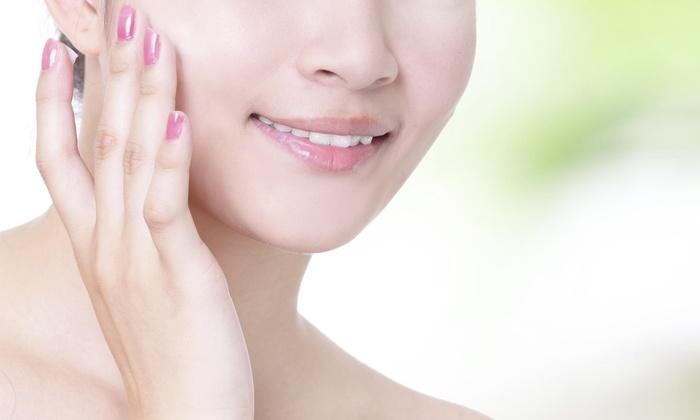 Chandelier Beauty Salon - Davie: Regular Manicure and Pedicure Package from Chandelier Beauty Salon (49% Off)