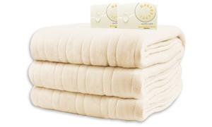 Biddeford Blankets Comfort Knit Heated Blanket