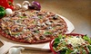 Imo's Pizza - Clayton: Pizza Meal with House Salads, and Drinks for Two of Four at Imo's Pizza (Up to 55% Off)