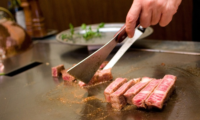 Sushi X - Robbinsdale - Crystal - New Hope: Hibachi Dinner and Drinks at Sushi X (38% Off). Two Options Available.