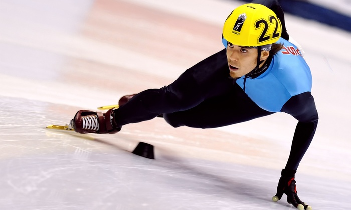Apolo Ohno Invitational - EnergySolutions Arena: One Ticket to the Apolo Ohno Invitational Speed-Skating Event at EnergySolutions Arena on November 21 (Up to 58% Off)