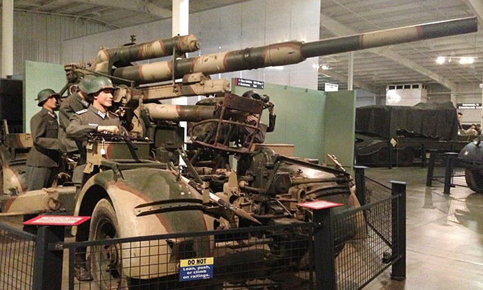 National Military History Center - Keyser: Admission for Two Adults or Family Up to Six at National Military History Center (Up to 48% Off)