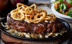 Logan's Roadhouse - Bakersfield: $13 for $25 Worth of Southern-Style Steak-House Cuisine for Two or More at Logan's Roadhouse