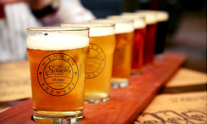 Schnebly Redland's Winery & Brewery - Everglades: $24 for Beer-Tasting Package for Two at Schnebly Redland's Winery & Brewery in Homestead (Up to $48 Value)