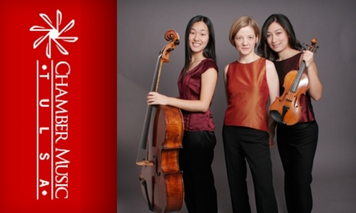 Chamber Music Tulsa - Downtown Tulsa: $12 for One Ticket to Trio Cavatina Concert ($25 Value)
