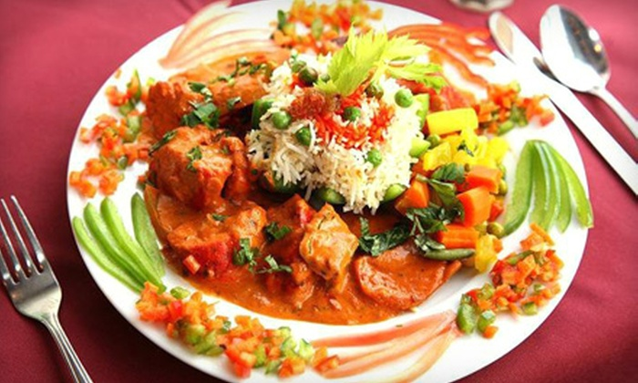 Khajuraho Indian Restaurant - Ardmore: $15 for $30 Worth of Authentic Indian Cuisine at Khajuraho Indian Restaurant in Ardmore