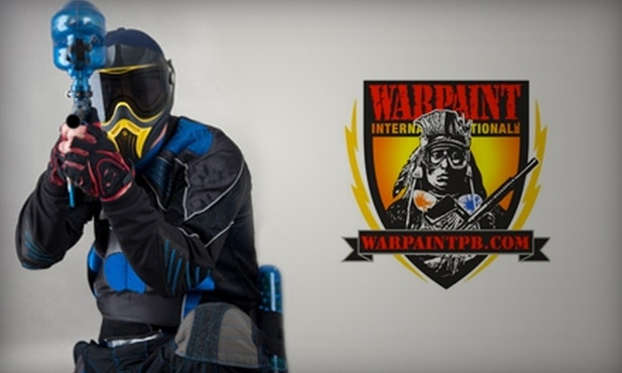 Warpaint International - Northgate: $15 for $30 Worth of Open Play, Equipment, and Paintballs at Warpaint International