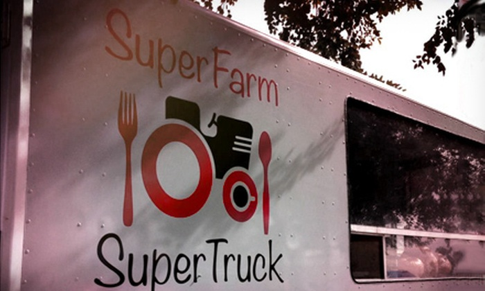 Superstition Farm - Phoenix: VIP Package for Two or General Admission for Two or Four to Food Truck Round Up at Superstition Farm (Up to 55% Off)
