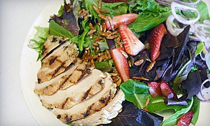 Bayside Grille - Excelsior: Eclectic Breakfast, Lunch, or Dinner at Bayside Grille in Excelsior. Three Options Available.