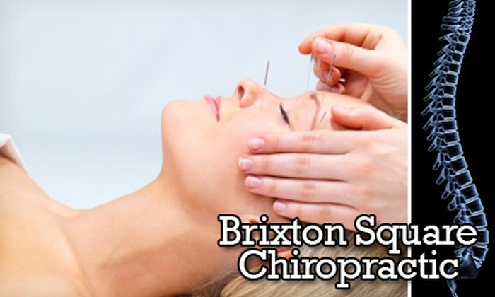 Brixton Square Chiropractic - Northwest Oklahoma City: $39 for a Chiropractic and Acupuncture Consultation, Initial Exam, X-Rays, and One Acupuncture Session at Brixton Square Chiropractic