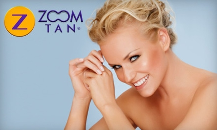 Zoom Tan - Multiple Locations: $10 for One Spray-Tanning Session at Zoom Tan ($25 Value)