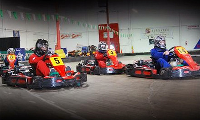 Fast Lap - Multiple Locations: Go-Kart Outing for One, Two, or Four People at Fast Lap (Up to 67% Off)