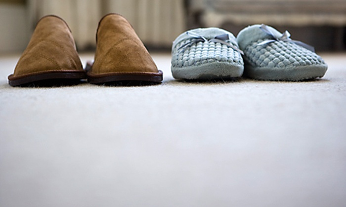UpFront Carpet Care - Fox Run: One or Two Deep-Steam Carpet Cleanings of Four Rooms and a Hallway from UpFront Carpet Care (Up to 63% Off)