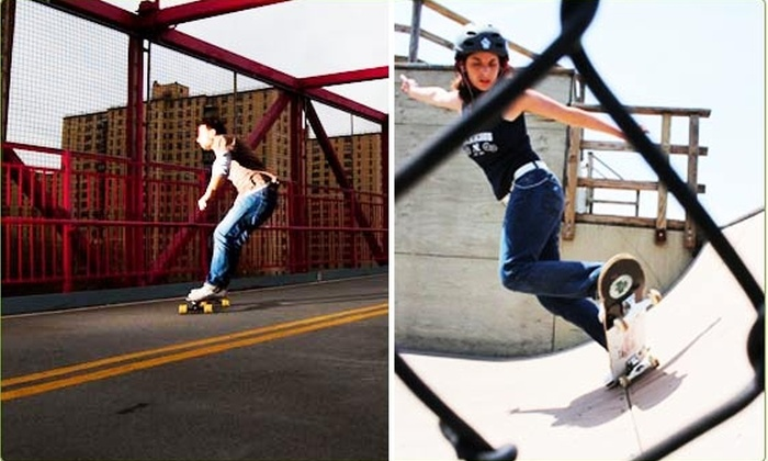 Uptown Skate School - New York City: $35 for a One-Hour Longboarding Lesson ($65 value)