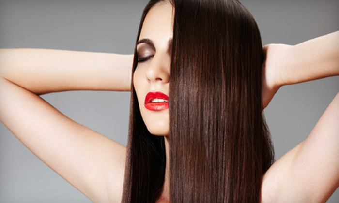 Alexander Myles Salon & Spa - Hilltop: One, Two, or Three Amino-Acid Keratin Straightening Treatments at Alexander Myles Salon & Spa