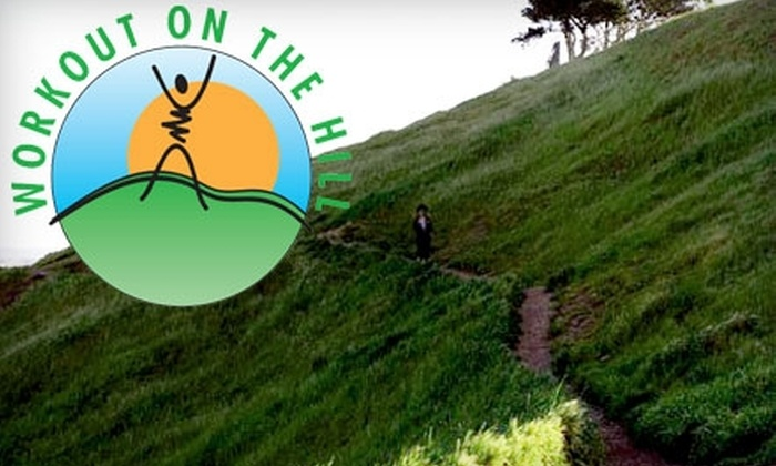 Workout on the Hill - Bernal Heights: $50 for 10-Class Fitness Pack at Workout on the Hill (Up to $180 Value)