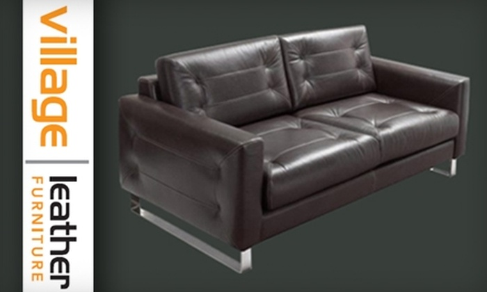 Village Leather Furniture - Niagara Falls: $50 for $200 Worth of Furniture from Village Leather Furniture