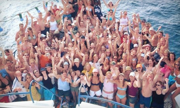 Kiss Anchor Island Party - Huntersville: Tickets for Kiss Anchor Island Party for 2, 4, or 20 from Luxury Yacht Charters (Up to 56% Off)
