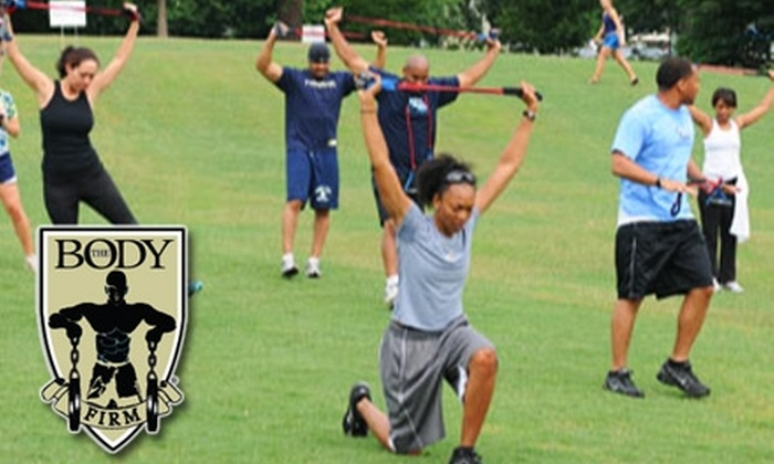 The Body Firm Atlanta - Multiple Locations: $49 for Four Weeks of Unlimited Boot Camp at The Body Firm Atlanta