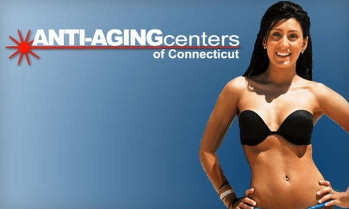 Anti-Aging Centers of Connecticut - West Haven: $89 for Three Laser Hair-Removal Treatments from Anti-Aging Centers of Connecticut (up to a $885 Value)