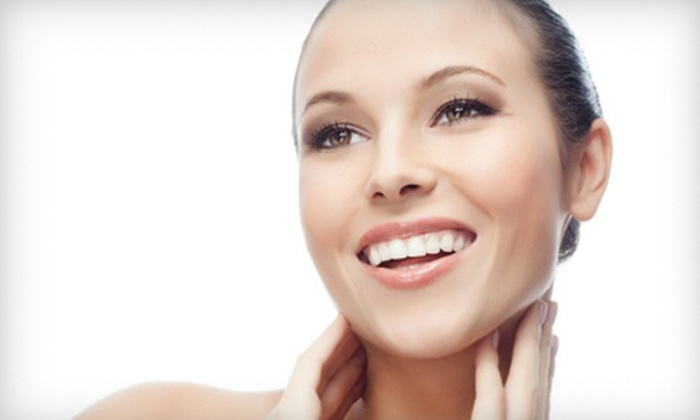 Drew James Aveda Lifestyle SalonsSpas - Multiple Locations: Spa Skincare Packages at Drew James Aveda Lifestyle SalonsSpas (Up to 67% Off). Three Options Available.