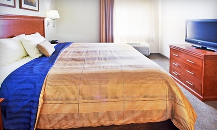 Candlewood Suites - Athens: Hotel-Stay Package at Candlewood Suites. Two Options Available.