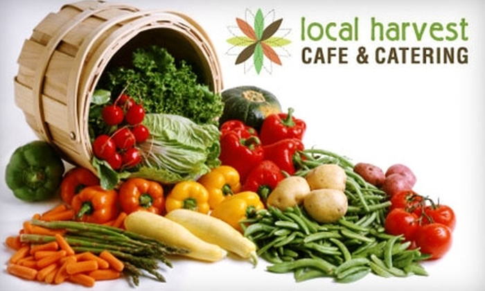 Local Harvest Cafe & Catering - Tower Grove South: $15 for $30 Toward Dinner Fare at Local Harvest Cafe & Catering (or $10 for $20 Toward Breakfast and Lunch)