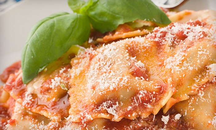 Toscana Ristorante - Downtown Concord: Italian Cuisine with Two or Four Glasses of House Wine or Cocktails at Toscana Ristorante in Concord (Up to 62% Off)