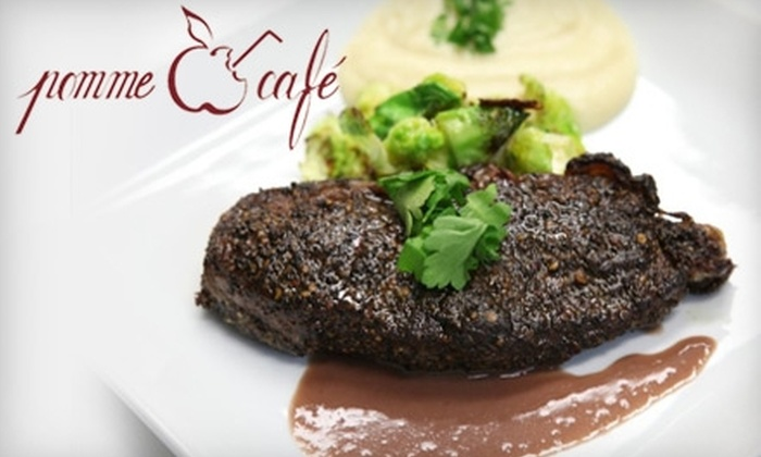Pomme Cafe - Astoria: $15 for $30 Worth of French Cuisine at Pomme Cafe in Astoria
