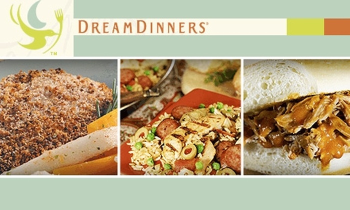 Dream Dinners - San Jose: $45 for Six Fully Prepared Meals From Dream Dinners ($110 Value)