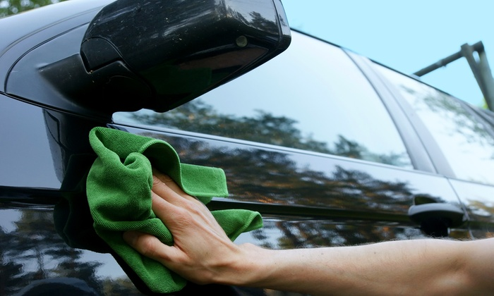 On the Spot Hand Car Wash and Auto Detail - Multiple Locations: Exterior Detail at On the Spot Hand Car Wash and Auto Detail (Up to 55% Off). Three Options Available.