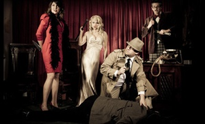The Murder Mystery Company: Dinner Show for One or Two from The Murder Mystery Company (Up to 53% Off)