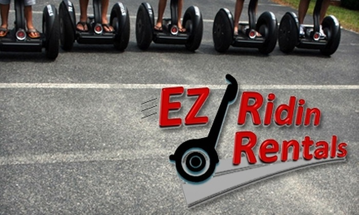 EZ Ridin Rentals - Cocoa Beach: $28 for a One-Hour Segway Rental from EZ Ridin Rentals