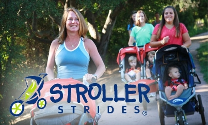 Stroller Strides - Multiple Locations: $19 for a Five-Class Pass at Stroller Strides ($45 Value)